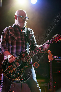 LOS ANGELES, CA - NOVEMBER 15:  Guitarist Dave Catching of Eagles of Death Metal performs at Pettyfest at El Rey Theatre on November 15, 2012 in Los Angeles, California.  (Photo by Chelsea Lauren/WireImage)