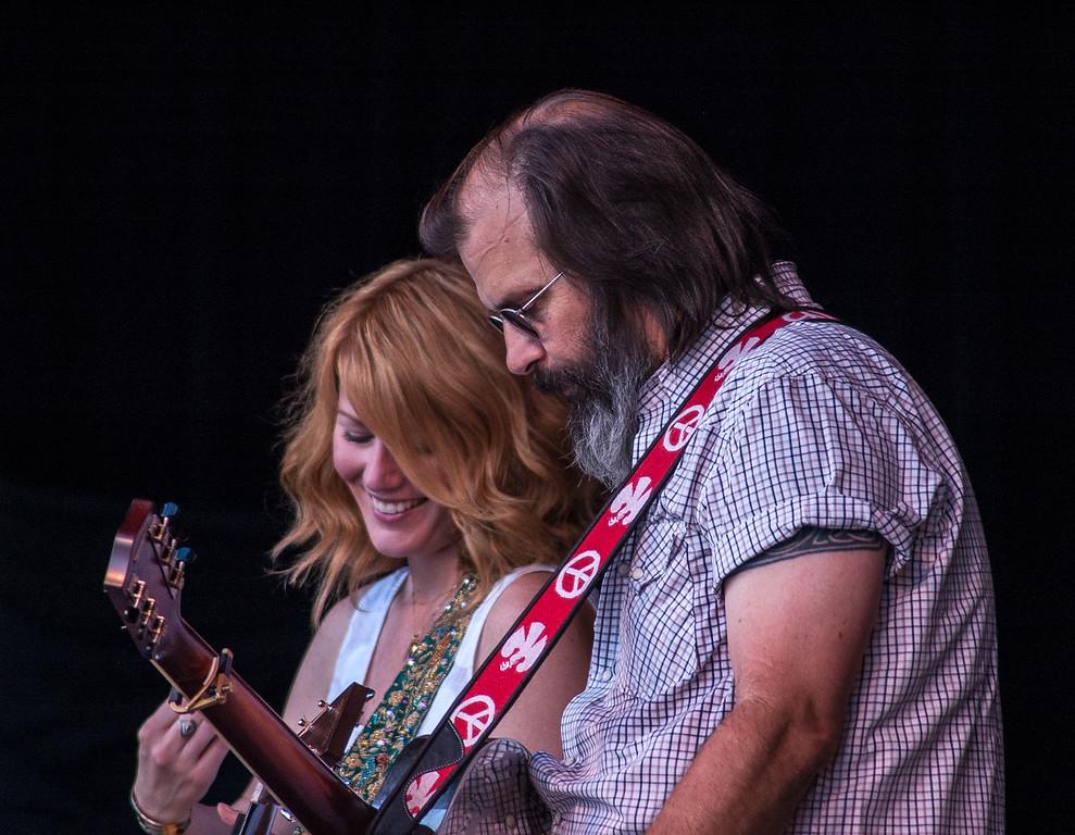 Allison Moorer with Steve Earle