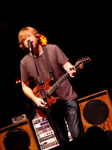 Phish/ Riverbend, 6/22/12  Band Members: Trey Anastasio – guitar, lead vocals (1983-present) Jon Fishman – drums, percussion, vocals (1983-present) Mike Gordon – bass, vocals (1983-present) Page McConnell – keyboards, vocals (1985-present)
