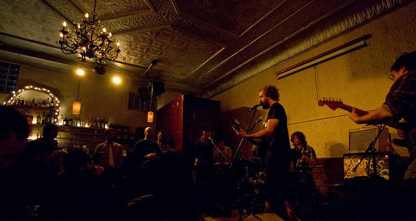 Phosphorescent - Sound Fix Records, NYC - December 13th, 2007 - Pic 7