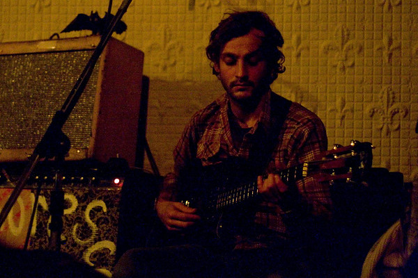 Phosphorescent - Sound Fix Records, NYC - December 13th, 2007 - Pic 1