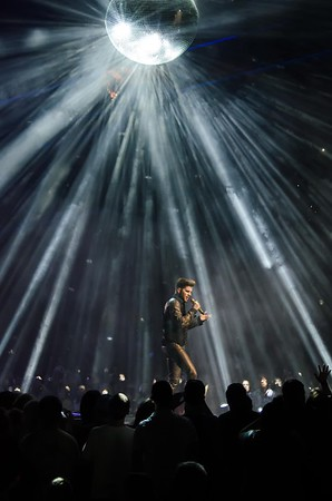 ADAM LAMBERT/QUEEN IN PHILADELPHIA FOR NATIONAL ROCK REVIEW