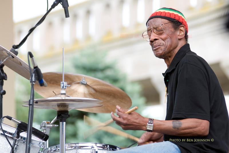 Drummer Billy James - Atlantic City 2008