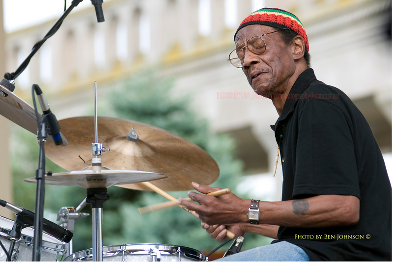 Drummer Billy James photo - Atlantic Ctiy 2008