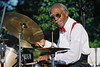 Jazz Drummer George 'Butch' Ballard performing in 2004 at Jazz In The Woods in Collingswood New Jersey