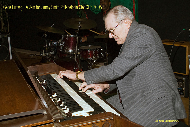Gene Ludwig photo - Performing at A Jam for Jimmy Smith at The Clef Club in Philadelphia 2005