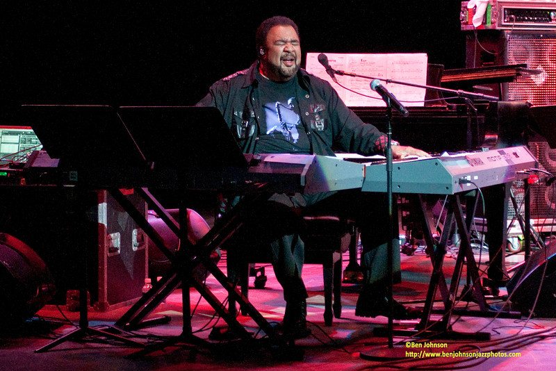 George Duke - Performing at The 33rd Annual Freihofer's Saratoga Jazz Festival - June 27 & 28, 2010
