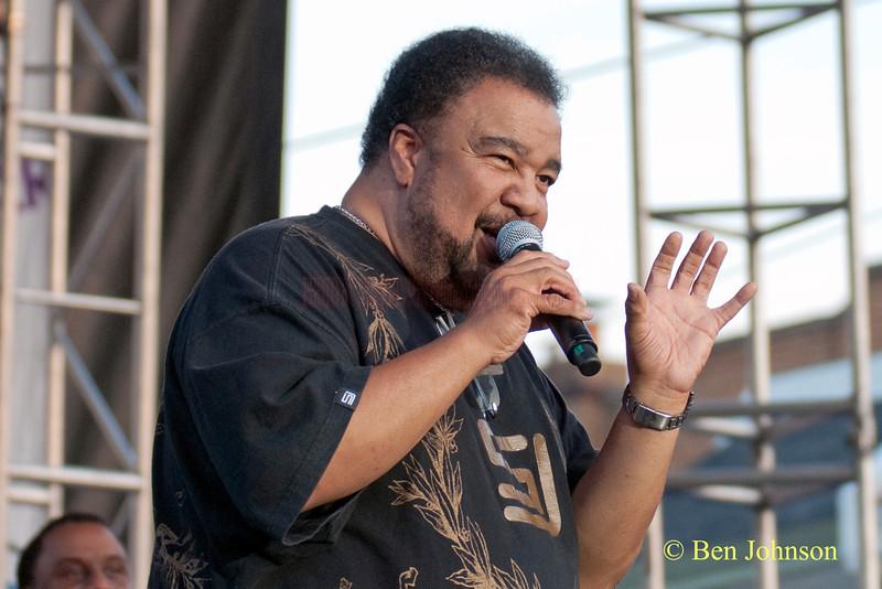 George Duke appearing at The 2010 West Oak Lane Jazz Festival in Philadelphia, PA