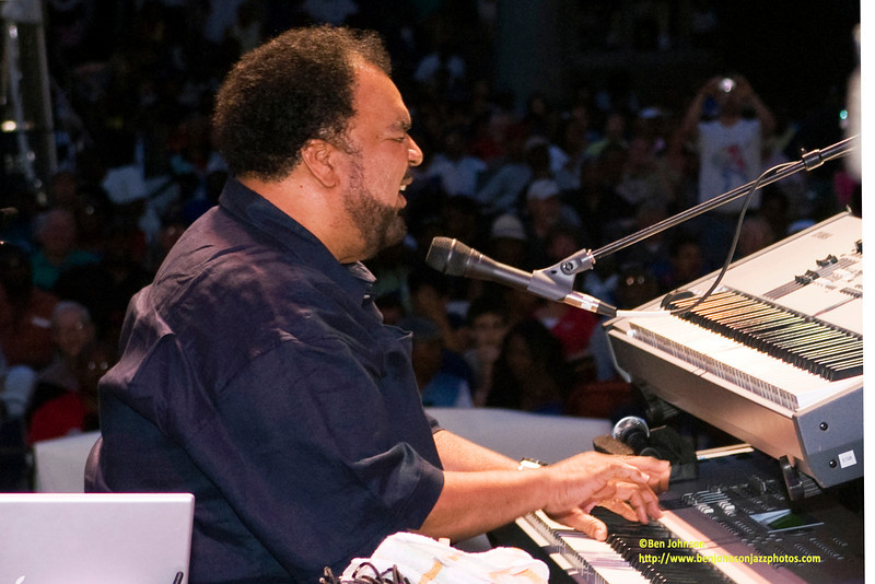 George Duke at The 20th Annual Clifford Brown Jazz Festival - June 2008