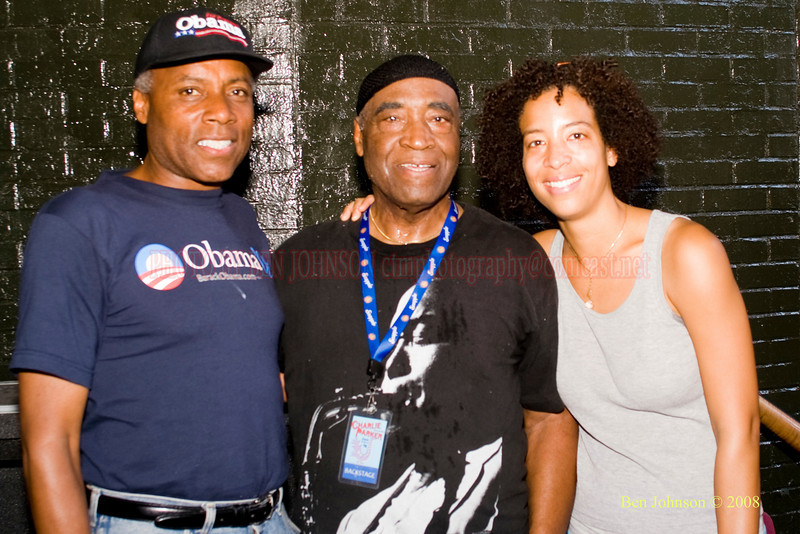 The 2008 Charlie Parker Jazz Festival, August 23-24, held in Marcus Garvey Parker, and Tomkins Square Park  - Rashied Ali Photo