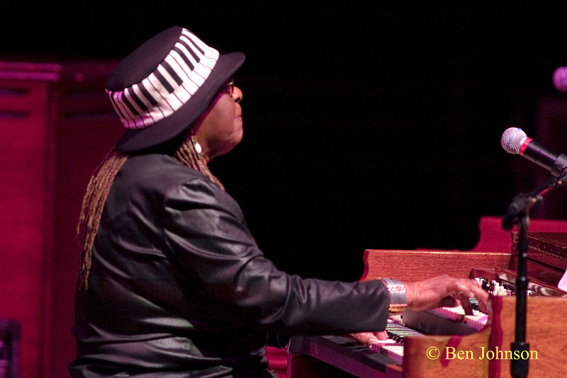 Trudy Pitts Photo - A Jazz Organ Jam at the Kimmel Center for the Performing Arts in Philadelphia, Pa, April 30, 2010 featuring Trudy Pitts, Joey D. Francesco, John Medeski and Dr. Lonnie Smith