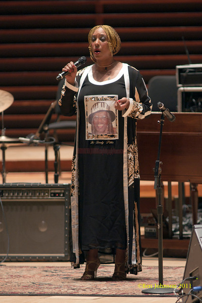Anysha Carney photo - A Tribute held to honor the late legendary Jazz organist, Dr. Trudy Pitts. The event was held in Verizon Hall at Philadelphia's Kimmel Center for The Performing Arts. It featured numerousJazz musicians and other vocal and spoken word artists  from Philadelphia and other parts of the countryA Tribute held to honor the late legendary Jazz organist, Dr. Trudy Pitts. The event was held in Verizon Hall at Philadelphia's Kimmel Center for The Performing Arts. It featured numerousJazz musicians and other vocal and spoken word artists  from Philadelphia and other parts of the country