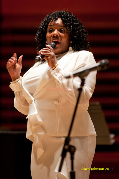 Barbara Walker Photo - Perfomring at a  Tribute held to honor the late legendary Jazz organist, Dr. Trudy Pitts. The event was held in Verizon Hall at Philadelphia's Kimmel Center for The Performing Arts. It featured numerousJazz musicians and other vocal and spoken word artists  from Philadelphia and other parts of the country