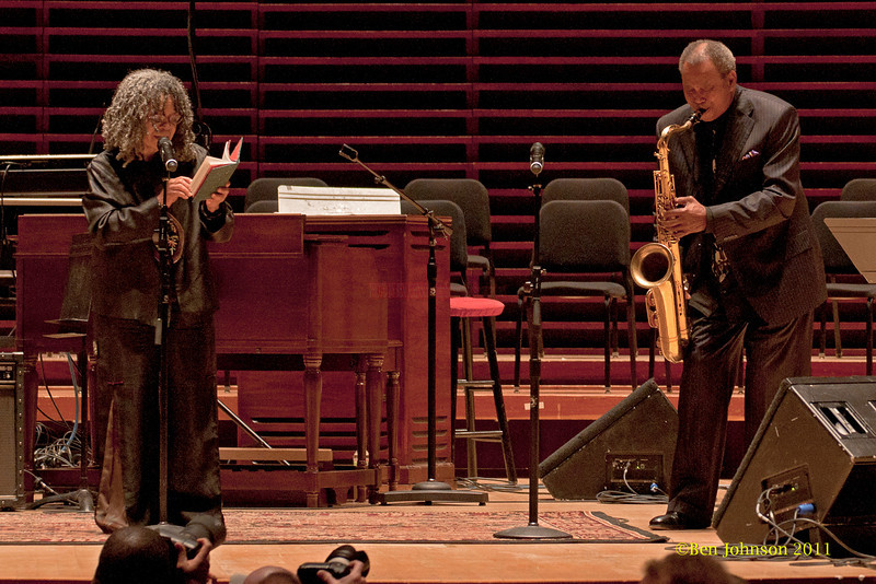 Sonia Sanchez and Odean Pope Photo - Clayton White Singer Photo - Perfomring at a  Tribute held to honor the late legendary Jazz organist, Dr. Trudy Pitts. The event was held in Verizon Hall at Philadelphia's Kimmel Center for The Performing Arts. It featured numerousJazz musicians and other vocal and spoken word artists  from Philadelphia and other parts of the country