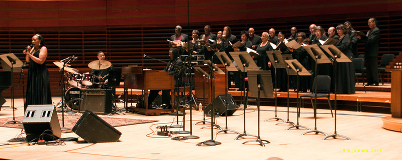 Clayton White Singers Photo - Perfomring at a  Tribute held to honor the late legendary Jazz organist, Dr. Trudy Pitts. The event was held in Verizon Hall at Philadelphia's Kimmel Center for The Performing Arts. It featured numerousJazz musicians and other vocal and spoken word artists  from Philadelphia and other parts of the country