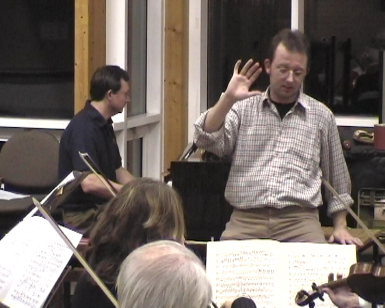 With the Bournemouth Rehearsal Orchestra doing Beethoven's Emperor Concerto