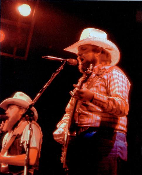 Charlie Daniels late 1970's Kansas Coliseum