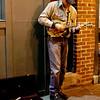 Busking on the cold hard streets of Nashville in November