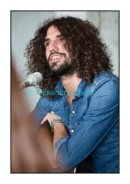 """Medi.<br /> <br /> 4 avril 2011: live dans """"El Blablo"""", sur Couleur 3."""