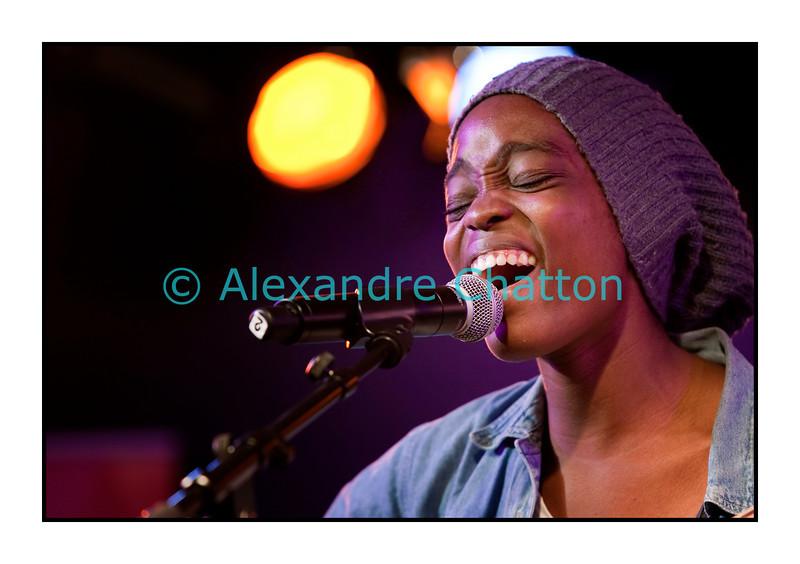 Irma.<br /> <br /> Mercredi 13 juillet 2011 au 45e Montreux Jazz Festival.