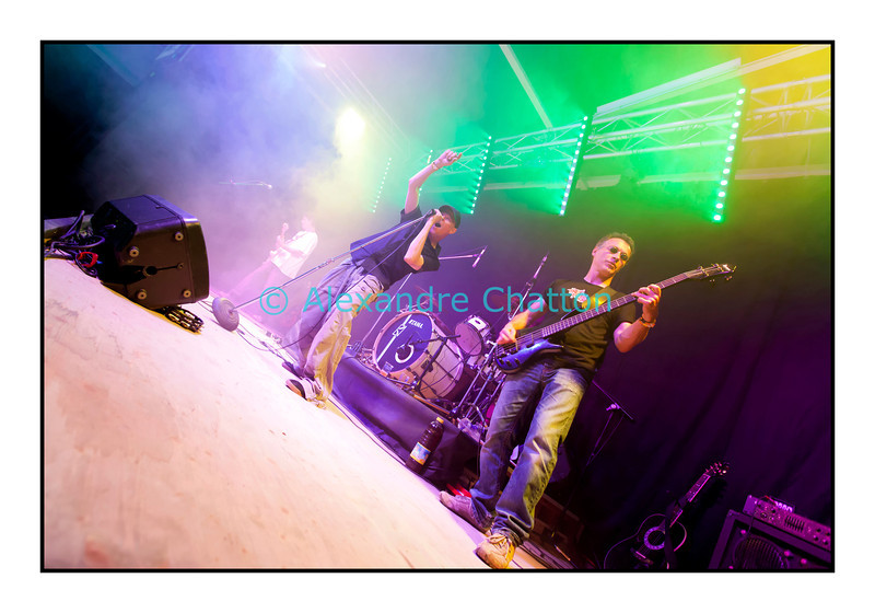 No More Name en concert, Palézieux, 23 juin 2012.
