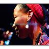 Mardi 17 avril 2012, Studio 15 de la RTS à Lausanne, la chanteuse et actrice malienne Fatoumata Diawara en Session Paradiso.