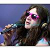 """Mardi 17 juillet 2012, Paléo Festival:  le songwriter américain Kurt Veil dans """"La Pravda""""."""