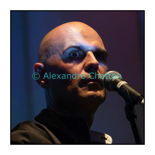 Jeudi 10 mai 2012, Studio 15 de la RTS à Lausanne, Narcisse, alias Jean-Damien Humair.