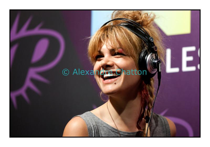 Vendredi 6 juillet 2012, Montreux Jazz Festival: l'Australienne établie à Paris, Nadeah.