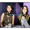 """Mercredi 18 juillet 2012, Paléo Festival: Warpaint en interview dans """"Couleur 3 Live""""."""