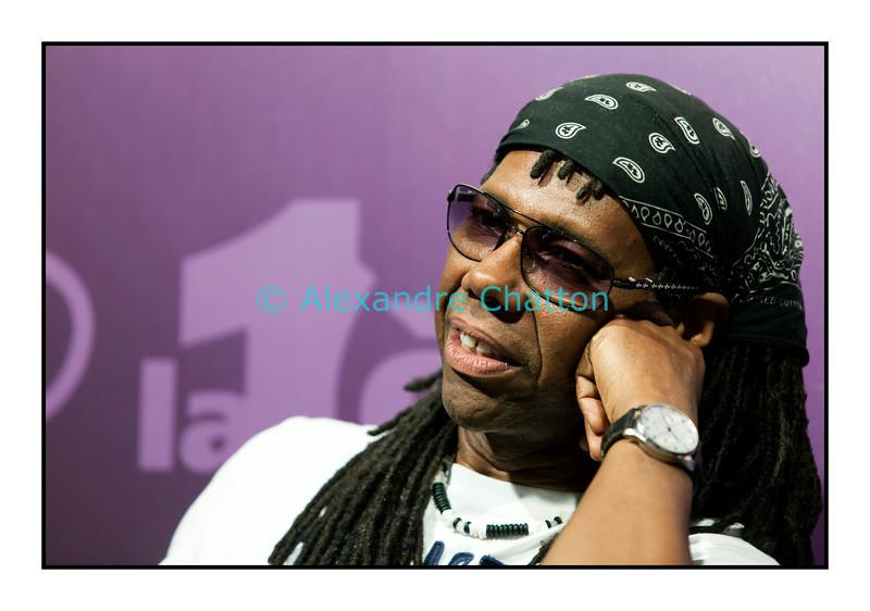 """Mercredi 11 juillet 2012, Montreux Jazz Festival: Nile Rodgers dans """"Paradiso""""."""