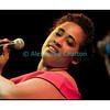 Jeudi 10 mai 2012, Studio 15 de la RTS à Lausanne: Butler Brandy, chanteuse du groupe zurichois Chamber Soul.