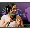 """Mercredi 4 juillet 2012, Montreux Jazz Festival: Sarah Lancman dans """"Paradiso""""; elle est la lauréate du concours vocal 2012 du festival."""