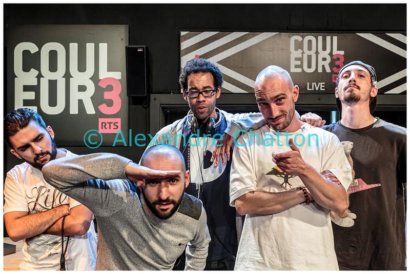 """D-BangerZ en showcase dans """"pl3in le poste"""""""
