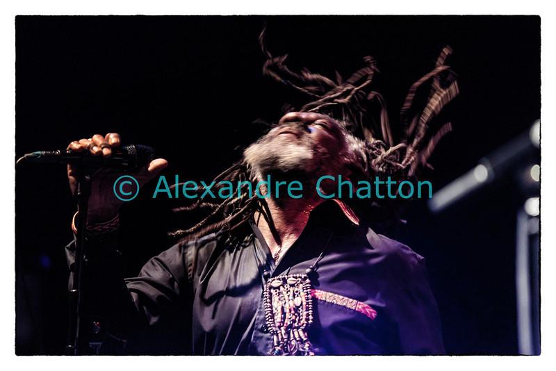 12 mars 2014: le chanteur jamaïcain Winston McAnuff.