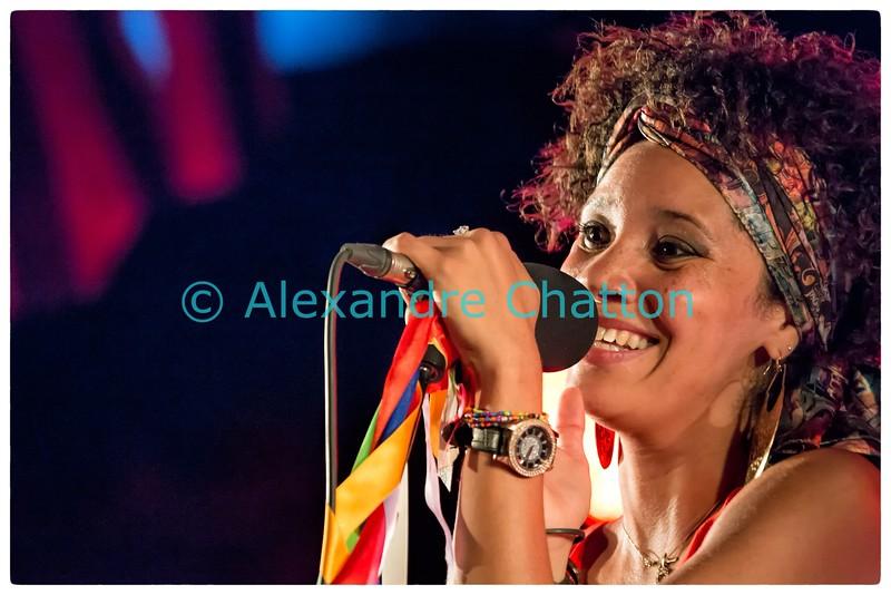 25 juillet 2015: concert d'Akemys aux arènes de St-Etienne-du-Grès, près de St-Rémy-de-Provence