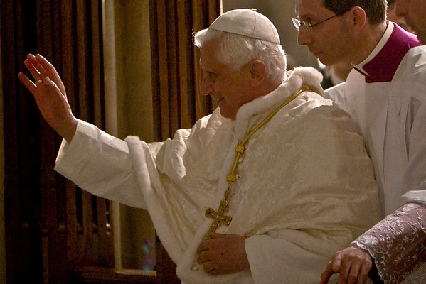 Pope Benedict XVI  - St. Patrick's Cathdral, NYC - April 19th, 2008 - Pic 41