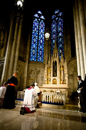Pope Benedict XVI  - St. Patrick's Cathdral, NYC - April 19th, 2008 - Pic 13