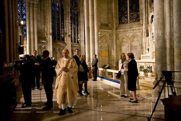 Pope Benedict XVI  - St. Patrick's Cathdral, NYC - April 19th, 2008 - Pic 3
