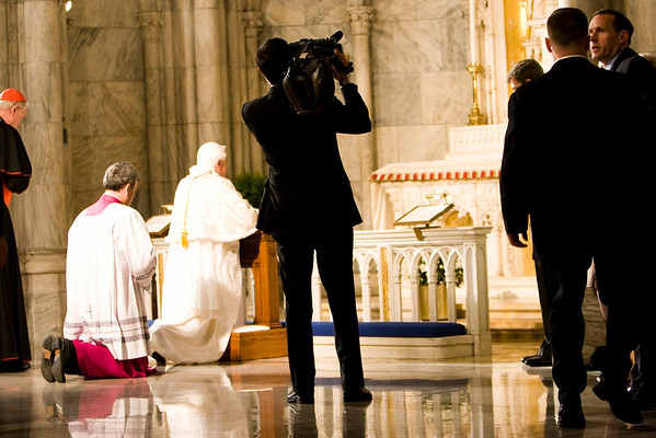 Pope Benedict XVI  - St. Patrick's Cathdral, NYC - April 19th, 2008 - Pic 42