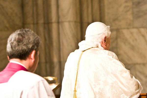 Pope Benedict XVI  - St. Patrick's Cathdral, NYC - April 19th, 2008 - Pic 43