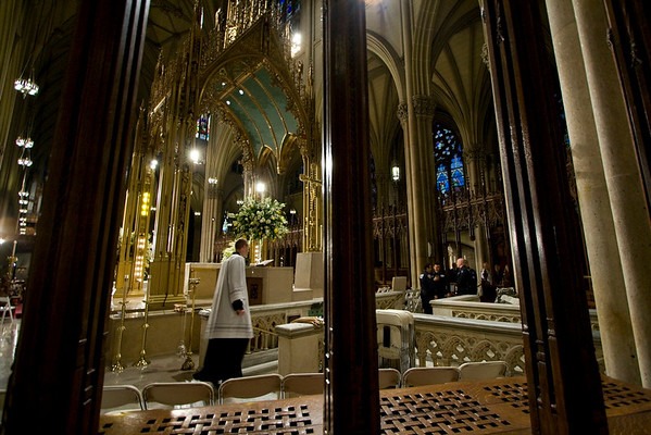 Pope Benedict XVI  - St. Patrick's Cathdral, NYC - April 19th, 2008 - Pic 2