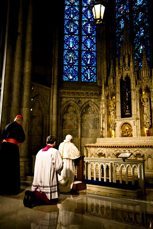 Pope Benedict XVI  - St. Patrick's Cathdral, NYC - April 19th, 2008 - Pic 11
