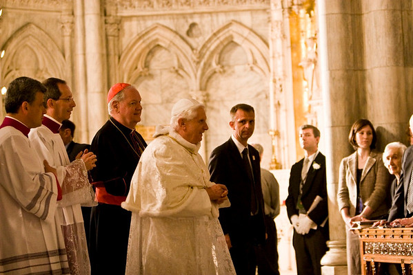 Pope Benedict XVI  - St. Patrick's Cathdral, NYC - April 19th, 2008 - Pic 44