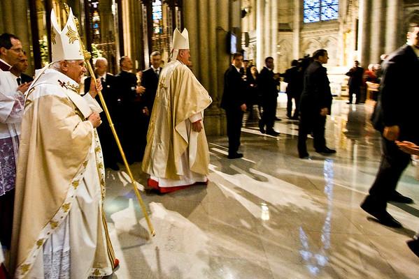 Pope Benedict XVI  - St. Patrick's Cathdral, NYC - April 19th, 2008 - Pic 20