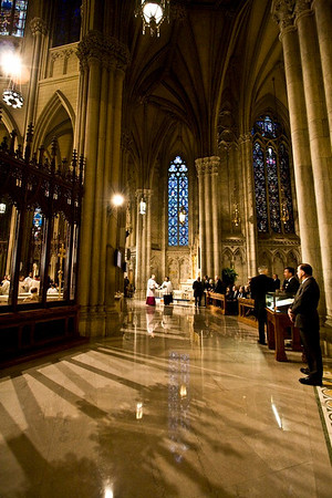 Pope Benedict XVI  - St. Patrick's Cathdral, NYC - April 19th, 2008 - Pic 5