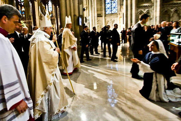 Pope Benedict XVI  - St. Patrick's Cathdral, NYC - April 19th, 2008 - Pic 22