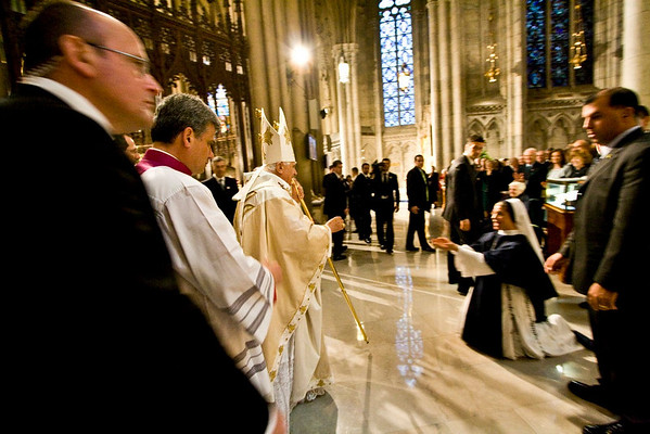 Pope Benedict XVI  - St. Patrick's Cathdral, NYC - April 19th, 2008 - Pic 25