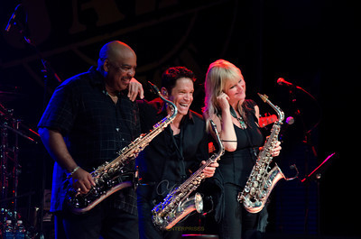Gerald Albright, Dave Koz, Mindi Abair, Capital Jazz Fest, 6/8/13