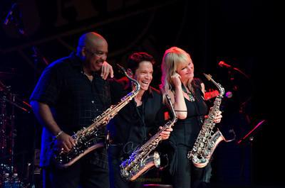 Gerald Albright, Dave Koz, Mindi Abair, Capital Jazz Fest, 6/8/13